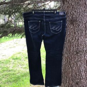 Express Jeans - Dark Wash Bootcut Express Jeans Size 18